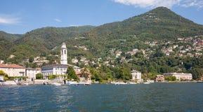 Cernobbio, lago Como, Italia Imagen de archivo libre de regalías
