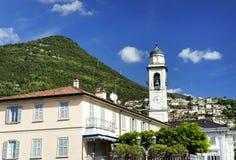 Cernobbio town in Como lake district. Stock Photo