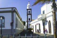 Cerntal Arrecife Lanzarote immagini stock libere da diritti