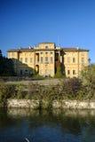 Cernusco sul Naviglio Italië, kanaal van Martesana Stock Foto