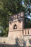Cernusco sul Naviglio Milan, Lombardy, Italy: wall. Cernusco sul Naviglio Milan, Lombardy, Italy: historic walls stock image