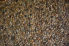 Cerrado encima de fondo de la pared de piedras de la roca Imágenes de archivo libres de regalías