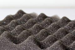 Cerrado encima de la espuma material a prueba de choques de Polyethelene Foto de archivo