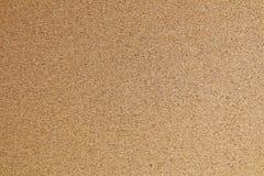 Cerrado para arriba de la textura horizontal de Brown Cork Board Foto de archivo libre de regalías