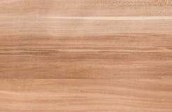 Cerrado para arriba de la textura horizontal del fondo de madera del grano Foto de archivo libre de regalías