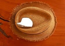 Cerrado para arriba del sombrero Foto de archivo