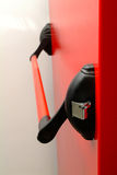 Cerradura de la puerta Imagen de archivo