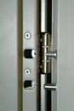 Cerradura de la puerta Imágenes de archivo libres de regalías