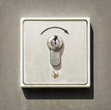 Cerradura de la seguridad Imágenes de archivo libres de regalías