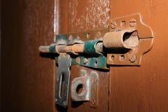 Cerradura de puerta Imágenes de archivo libres de regalías