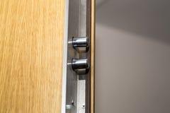 Cerradura de puerta de la seguridad Imagen de archivo