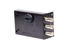 Cerradura de puerta de la seguridad Fotos de archivo libres de regalías