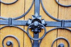 Cerradura de puerta del metal Imagen de archivo