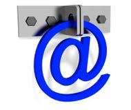 Cerradura del email Imagen de archivo