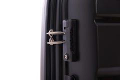 Cerradura del equipaje imagen de archivo libre de regalías