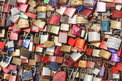 Cerradura Gallary, Colonia, Alemania del amor Fotografía de archivo libre de regalías