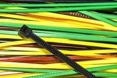 cerradura ny de la atadura de cables Fotos de archivo
