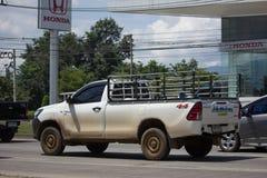 Cerradura privada de Toyota Hilux Revo 4X4 Diff del coche de la camioneta pickup Imagen de archivo