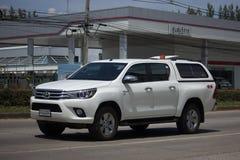 Cerradura privada de Toyota Hilux Revo 4X4 Diff del coche de la camioneta pickup Fotos de archivo libres de regalías
