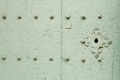 Cerradura verde sólida Fotografía de archivo libre de regalías