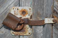Cerradura vieja Imagen de archivo libre de regalías