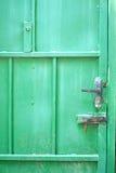Cerradura vieja en la puerta Fotografía de archivo libre de regalías