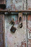 Cerradura y cerrojo Fotografía de archivo
