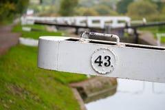 Cerraduras de la colina de Caen fotografía de archivo libre de regalías