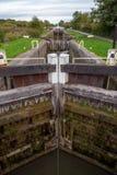 Cerraduras de la colina de Caen fotos de archivo libres de regalías