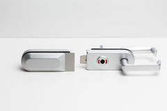 Cerraduras de puerta Fotos de archivo libres de regalías