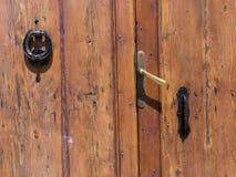 Cerraduras de puerta 1 Imágenes de archivo libres de regalías