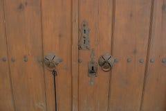 Cerraduras de puerta del pueblo de Yoruk Imagen de archivo