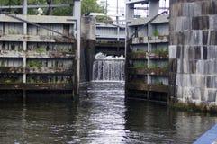 Cerraduras del agua Fotografía de archivo