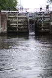 Cerraduras del agua Fotos de archivo libres de regalías