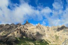 Cerro δύσκολη αιχμή σειράς καθεδρικών ναών, Αργεντινή Στοκ εικόνες με δικαίωμα ελεύθερης χρήσης