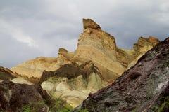 Cerro Alcazar rock formation Royalty Free Stock Images