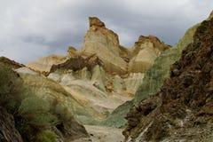 Cerro Alcazar rock formations in Argentina Stock Image