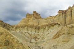 Cerro Alcazar rock formations in Calingasta Royalty Free Stock Photography