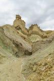 Cerro Alcazar rock formations in Calingasta Royalty Free Stock Photos