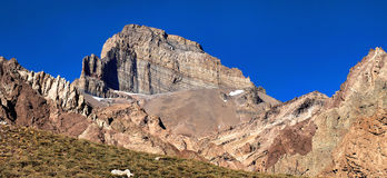 Cerro Almacenes Morro in Mendoza, Argentina Stock Photo