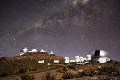 cerro amerykański tololo inter obserwatorski Obraz Stock