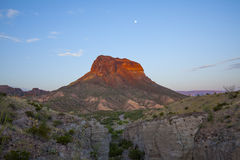 Cerro Castellan and Tuff Canyon Royalty Free Stock Images