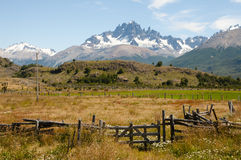 Cerro Castillo - Чили стоковые фото