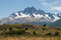Cerro Castillo - Chile. Cerro Castillo Mountain in Chile stock photo