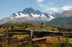 Cerro Castillo - Chile. Cerro Castillo Mountain in Chile royalty free stock images