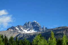 Cerro Castillo mountain, Chile royalty free stock photo