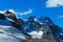Cerro Castillo range stock photography