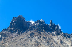 Cerro Castillo range royalty free stock images