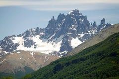 Cerro Castillo rocky peak, Chile royalty free stock photography