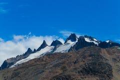 Cerro Castillo Waaier stock afbeeldingen